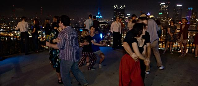[Late-night Blues dancing on Grandview Overlook]